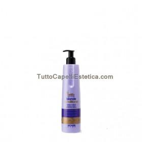 BLONDE Conditioner SHINE HAIR, BLANCHI, avec des stries