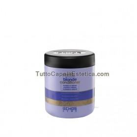 796/5000 BLONDE CONDITIONER CONDITIONER SHINE HAIR, gebleicht, gefärbt, mit Strähnen 1000ml Echosline