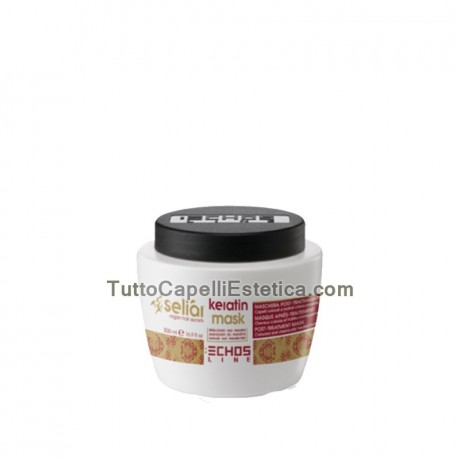 SELIAR KERATIN MASK POST-TREATMENT - COLORED HAIR AND PROCESSED CHEMICALLY 500ML