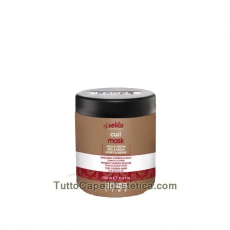 419/5000 MASK CONTROL CURLY HAIR WAVY riccie 1000ML SELIAR ECHOSLINE