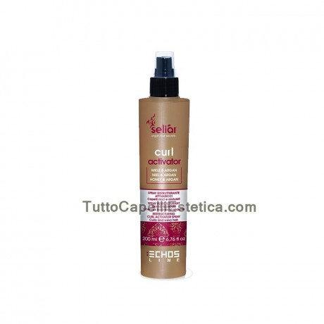 MASK CONTROL CURLY HAIR WAVY riccie 500ML SELIAR ECHOSLINE