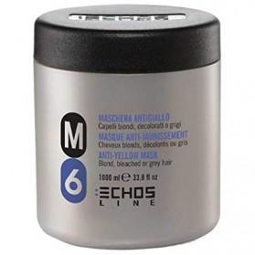 Maschera antigiallo per capelli biondi decolorati o grigi 1000 ml Echosline