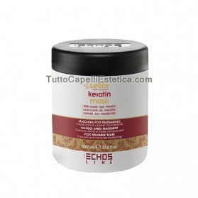 KERATIN MASK MASK POST-TREATMENT - COLORED HAIR AND PROCESSED CHEMICALLY 1000ML
