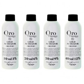 HYDROGEN PEROXIDE WITH GOLD AND OIL ARGAN MICROATTIVO 10VOL 1000ML OROTHERAPY