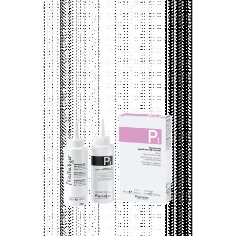 KIT P1 PERMANENT NATURAL HAIR 100ML + 120ML