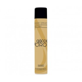 Ecological Hair Lacquer Strong Gocce d'Oro 500ml - Parisienne