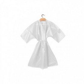 Disposable Kimono in white TNT pz.10 - Ro.ial.
