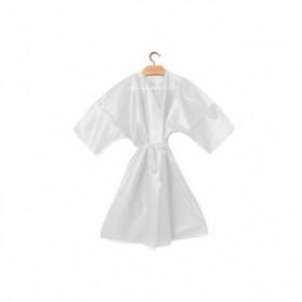 Kimono jetable en TNT blanc pz.10 - Ro.ial.