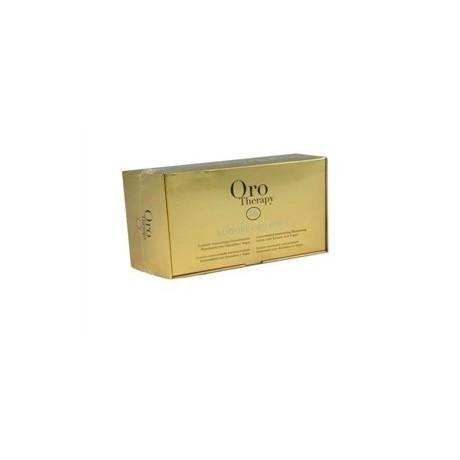 Argan oil hair lotion 12 vials of 10 ml - Fanola Oro Therapy