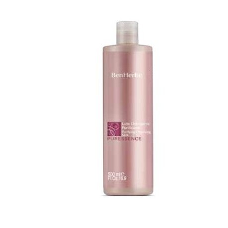 Cleansing Milk Face purifying oily and impure hair 500ml - Ben Herbe Puressence