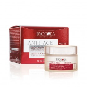 INTENSIVE ANTI-WRINKLE NIGHT CREAM WITH HYALURONIC ACID 50ML BYOTHEA