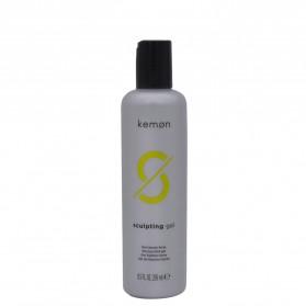 Kemon -Sculpting Gel, Modellante per Capelli con Effetto Bagnato 250 ml