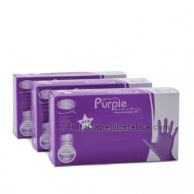 PURPLE NITRILE GLOVES SIZE - S -100PZ RO.IAL