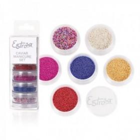 Set CaviarManicure Microsfere Nail Art Estrosa cod.7546