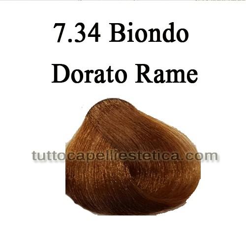 7.34 Biondo Dorato Rame