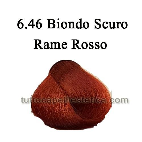6.46 Biondo Scuro Rame Rosso