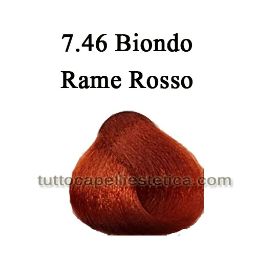 7.46 Biondo Rame Rosso